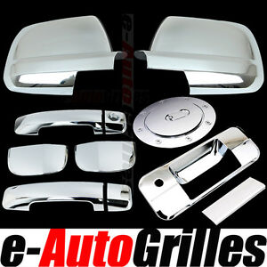 07-12-Toyota-Tundra-Double-Cab-Chrome-Mirror-Door-Handle-Tailgate-Gas-Cover-2012