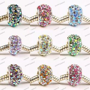 AB-COLORS-SWAROVSKI-CRYSTAL-925-STERLING-SILVER-EUROPEAN-BIG-HOLE-BEAD-CHARMS