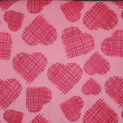Pink Vinyl Tablecloth (VALENTINE'S VINYL TABLECLOTH~Flannel Back~ALL SIZES~Pink/Red)