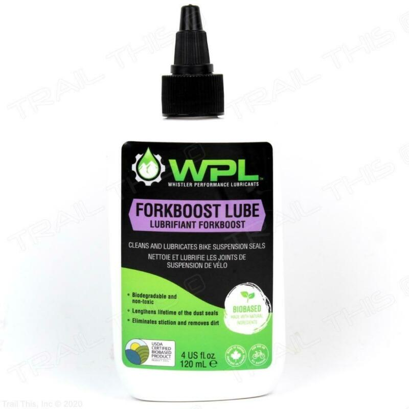 WPL ForkBoost 4oz Bike Fork Suspension Seal Lubricant & Cleaner Biodegradable