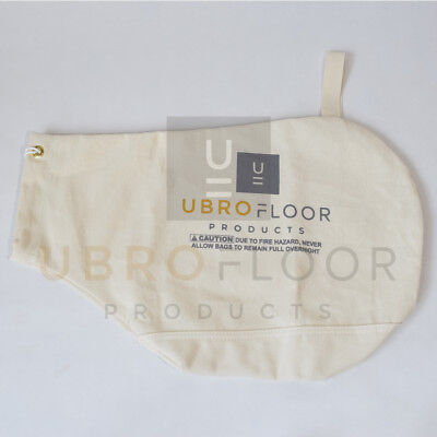 Double Cloth Bottom Dust Bag For Hardwood Floor Edger Super 7 Super 7r Or B2
