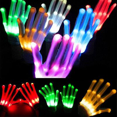 ng Finger Light Up Colorful Lighting Gloves For Rave Party  (Light Up Rave Handschuhe)