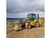 DIGGER,DUMPER & OPERATOR HIRE. GROUNDWORKS & LANDSCAPING CONTRACTOR.