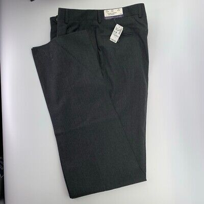 Jos. A. Bank Mens Dress Pants Gray Heathered Pleated Front Pockets 36 Long New Heathered Mens Dress Pants