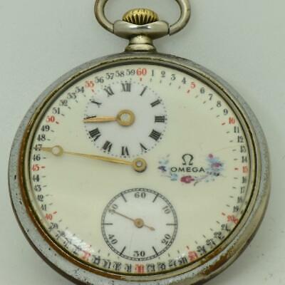 Rare antique Omega Regulator dial pocket watch c1920's