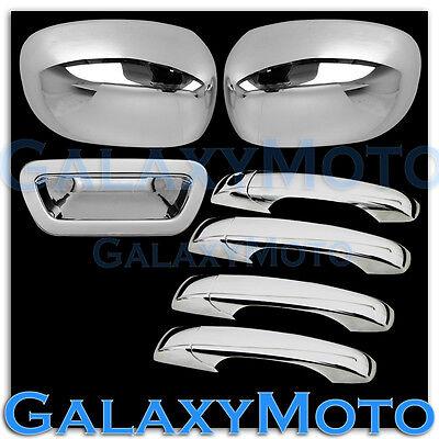 05-08 Dodge Magnum Chrome Mirror+4 Door Handle W/O PSG KH+Tailgate Cover Combo Dodge Magnum Chrome Door Handle