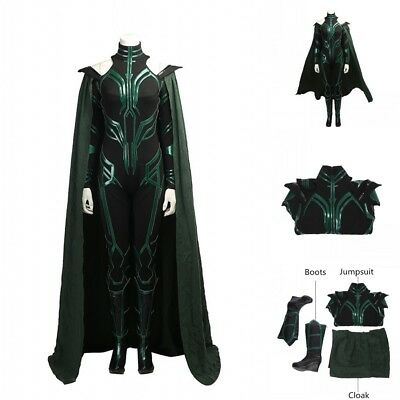 Thor Ragnarok Hela Cosplay Costume Full Set Outfit Custom Made For Girl/Lady](Thor Costumes For Girls)