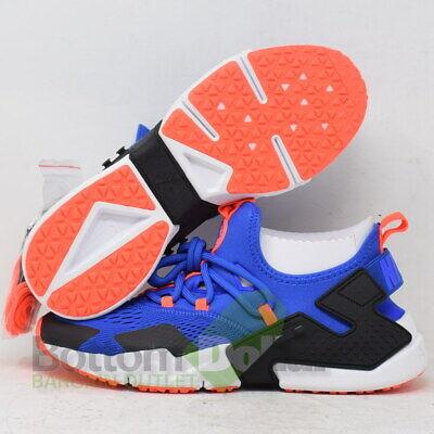 5e08c7a82f75 Nike Men s Air Huarache Drift Racer Breathe Shoes Blue-Black AO1133-400 (9)