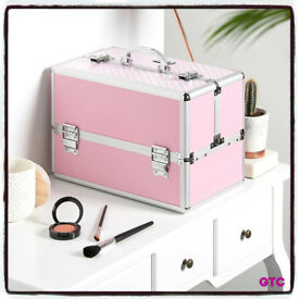 Beauty Make Up Nail Cosmetic Box Vanity Case