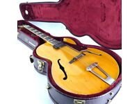 1959 Gibson L-4C Vintage Guitar – Natural - Trades