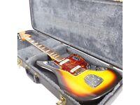 1966 Fender Jaguar Vintage Guitar - All Original - Sunburst - Trades