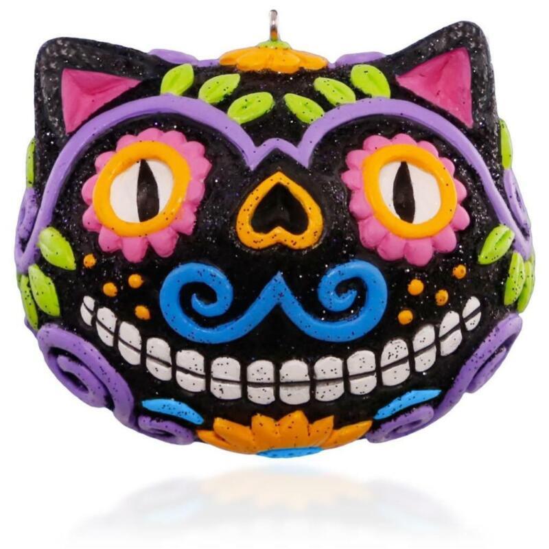 Diá De Los Muertos Hallmark Keepsake Ornament 2015 Day Of The Dead Halloween NIB