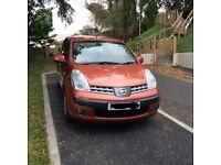 Nissan Note SE 1.6 Automatic (2007) 11 months MOT