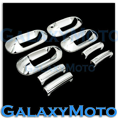(03-12 Ford Expedition Triple Chrome 4 Door Handle W/O Passenger Keyhole Cover)