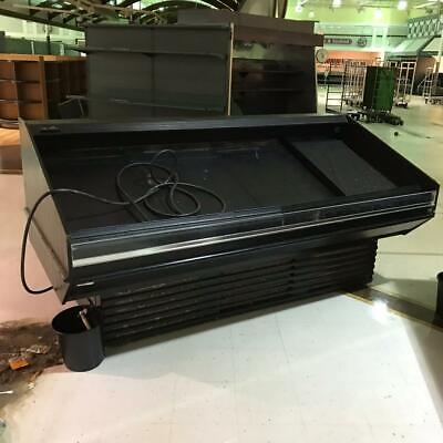 Barker Single Deck Refrigerated Merchandiser For Producefloral 8 Ft