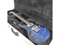 2010 PRS Custom 24 '25th Anniversary' Guitar - 10 Top - Sapphire Smokeburst - Trades