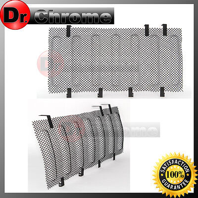 07-16 Jeep JK Wrangler Black Bug Screen Mesh Stainless Grille Insert Cover Grill ()