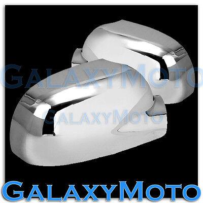 02-09 Chevy Trailblazer + GMC Envoy Chrome Mirror Cover abs triple chrome a pair