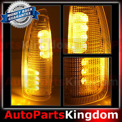 Amber Lens Amber Led Side Mirror Marker Light 2003 2007