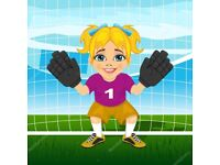 WANTED: Female goalkeeper for 5-a-side football