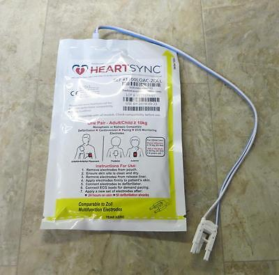 New Zoll Heartsync Adult Child Multifunction Electrode Pads M E R Series Padz