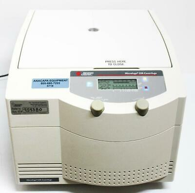 Beckman Coulter Microfuge 22r Refrigerated Centrifuge W F301.5 14000 Rpm 5718