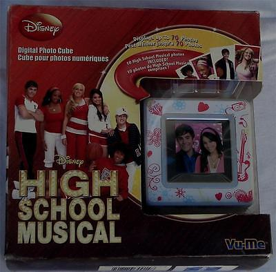Digital Photo Cube (BRAND NEW IN BOX Disney Digital Photo Cube, High School Musical, Holds 70 Photos)