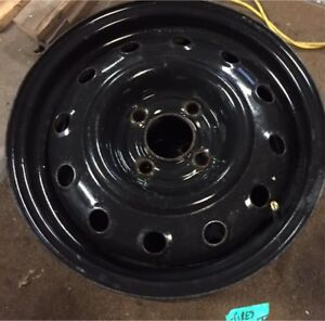 4 steel Rims 14 inch 4x100 good condition