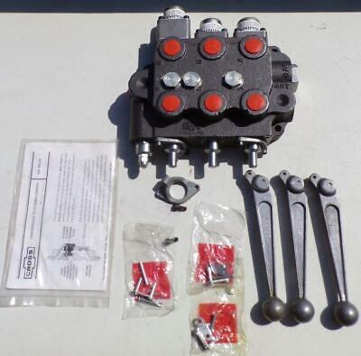 Sbaf22 Triple Spool Cross Hydraulic Valve Kubota Case Ford John Deere New