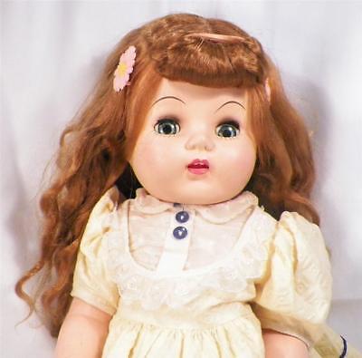 Eegee Susan Stroller Walker Doll Hard Plastic 23in. Auburn Hair Orig Dress Crier for sale  Shipping to Nigeria