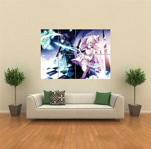 SWORD ART ONLINE NEW GIANT ART PRINT POSTER  G1517