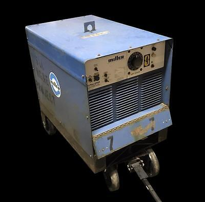 Miller Gold Star 300ss Direct Current Arc Welding Power Supply W Wheel Kit