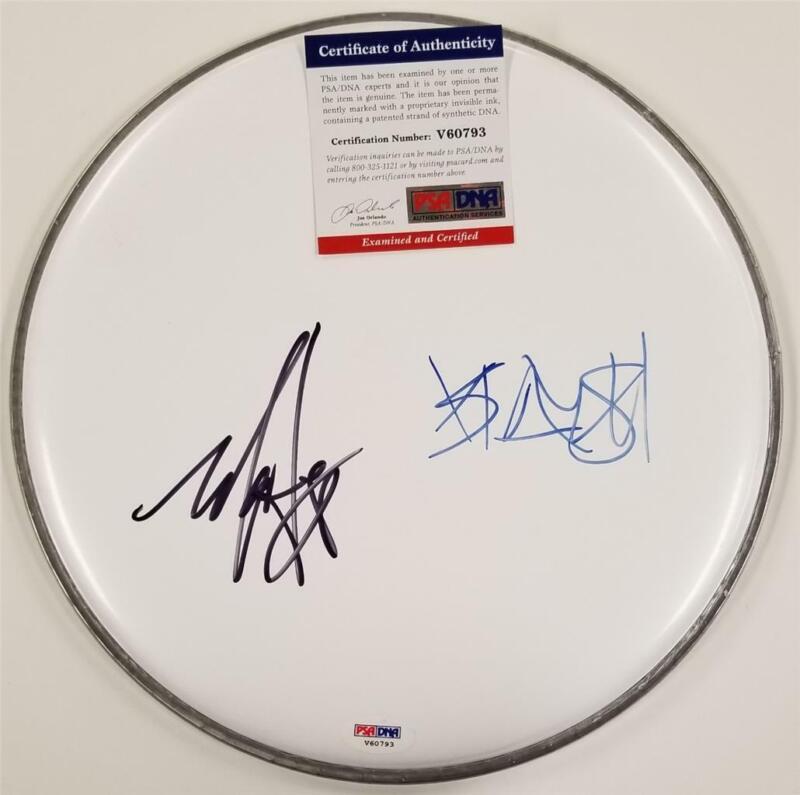 Travis Barker & Mark Hoppus signed 10