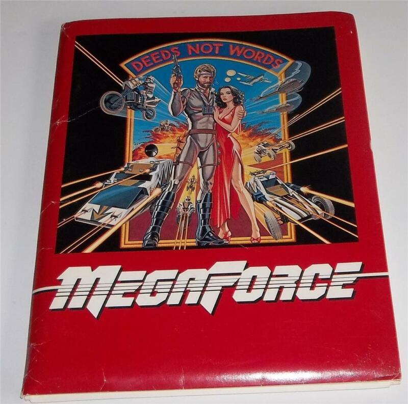 Vintage 1982 Twentieth Century Fox Movie Press Kit For Megaforce