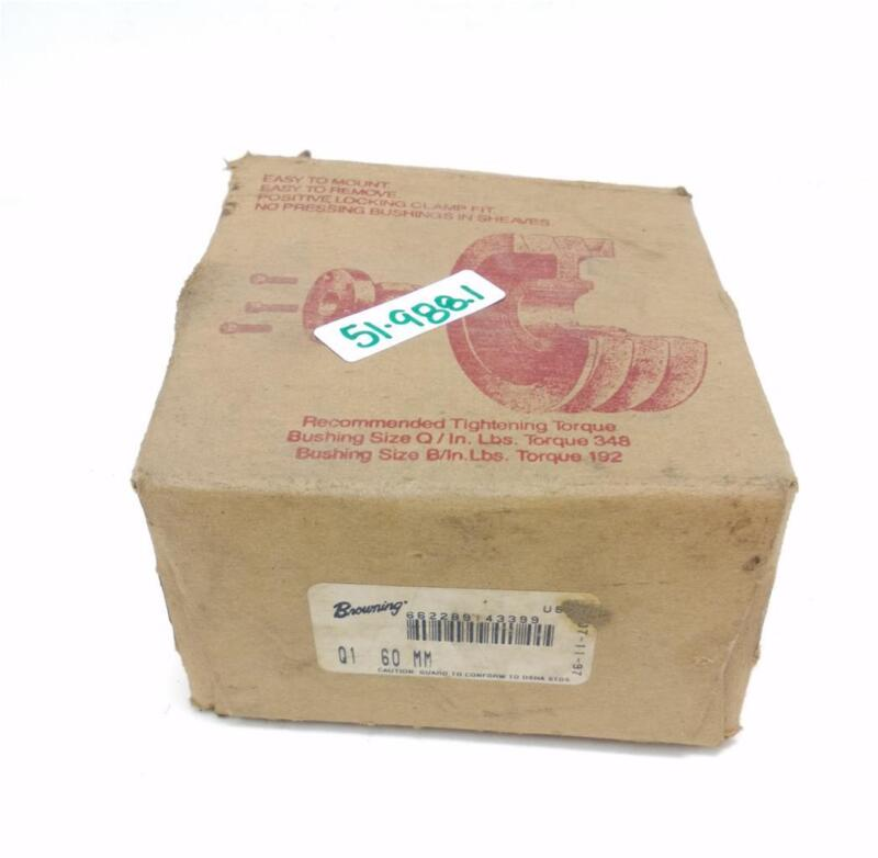 BROWNING SPLIT TAPER BUSHING Q1 60 MM NIB