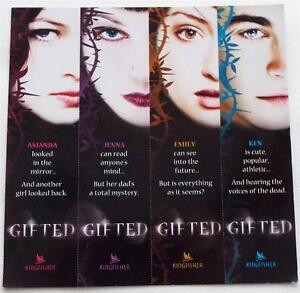 SDCC-2013-Comic-Con-Exclusive-RARE-4-GIFTED-Bookmarks