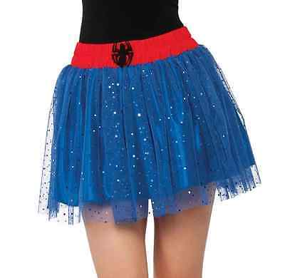 Spider-Girl Tutu Skirt Spider-Man Marvel Superhero Halloween Costume Accessory
