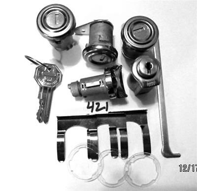 55 - 57 Chevrolet Ignition Door Trunk Glove Box lock Bel Air Delray Fl Pawls 421 Bel Air Ignition Door Trunk