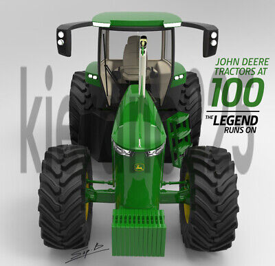 A3 John Deere 4240 100 Years Concept Tractor Brochure Poster Leaflet