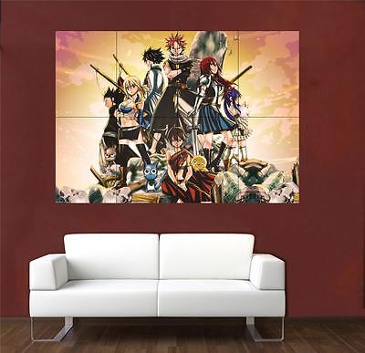 Fairy Tail Huge Promo Poster A674