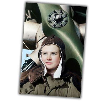 WWII B/&W Photo Soviet Female Sniper  Lyudmila Pavlichenko WW2 Russia 1109