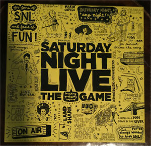 Saturday night live - laughing guessing improv game never used
