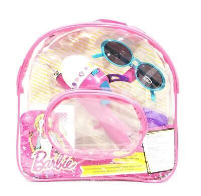 - New Barbie Fishing Telescopic Rod Tackle Box Sunglasses Backpack Kit - NWT