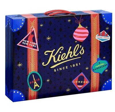 Kiehl's 2018 Beauty Advent Calendar Travel Sample Sizes Skincare 24 Mini Gifts