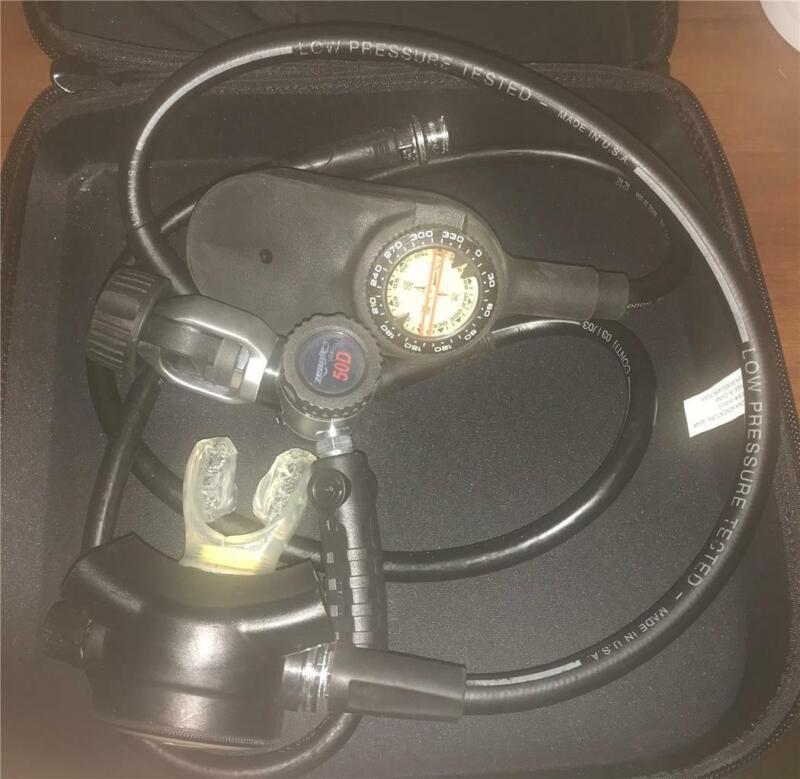Zeagle 50D Regulator with Genesis Scuba Diving Console