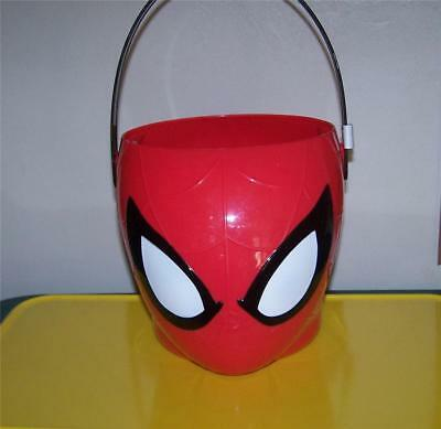 Marvel Spiderman Figural Plastic Bucket ~Easter~Party~Room Decoration~Halloween~