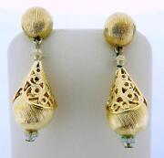 Monet Clip Earrings Dangle
