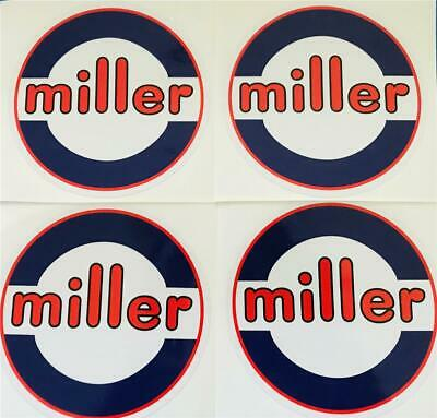 Miller Electric Welder 6 Decals Set Of 4 Oempeel Stick Trailblazerbobcat A