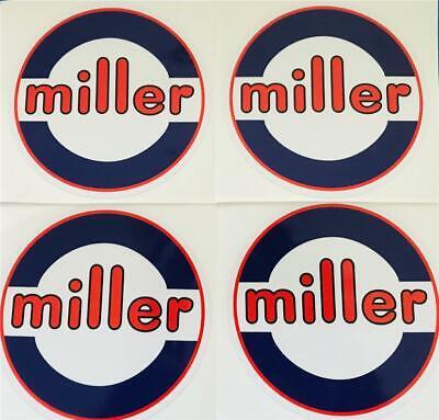 Miller Electric Welder 6 Decals Set Of 4 Oempeel Stick Trailblazerbobcat A
