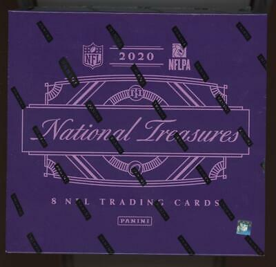 2020 Panini National Treasures Football Factory Sealed Box